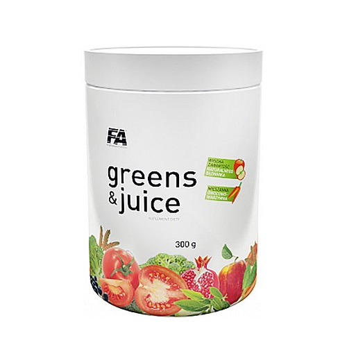 FA nutrition Greens & Juice 300.gr