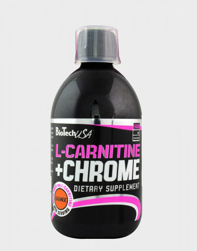 L-Carnitine + Chrome Concentrate 0,5L