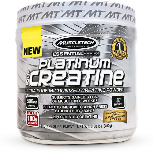 MT PLATINUM 100% CREATINE ULTRA-PURE MICRONIZED CREATINE 400.gr