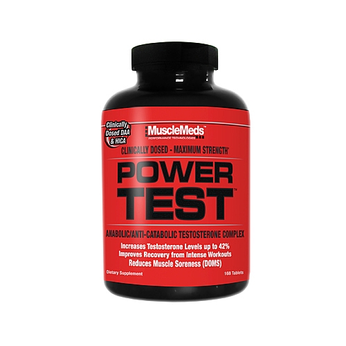 MuscleMeds POWER TEST 168.таб
