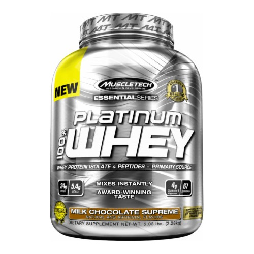 MuscleTech Essential Series Platinum 100% Whey 2,28.kg