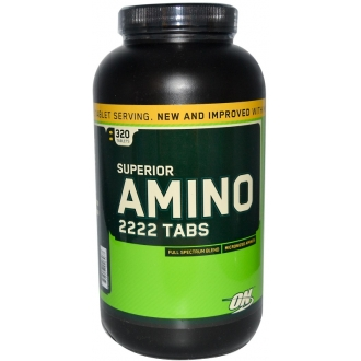 Optimum Nutrition Superior Amino 2222 320.tab