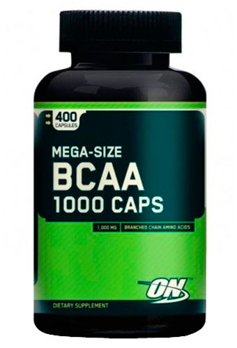 Optimum Nutrition BCAA 1000 400.кап