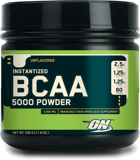 Optimum Nutrition BCAA 5000 Powder 336.gr