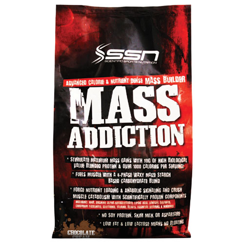 SSN mass addiction 4,55kg
