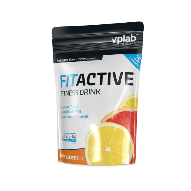VPLab FitActive Fitness Drink 500.gr