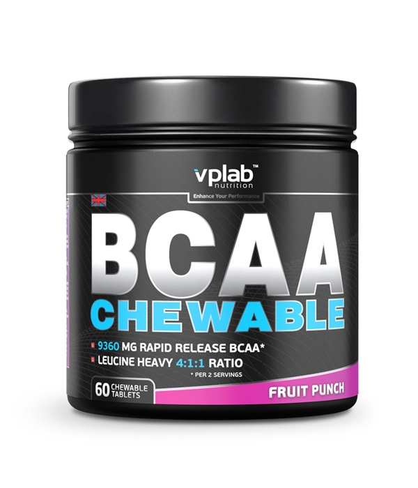 VPLab BCAA Chewable 60.таб
