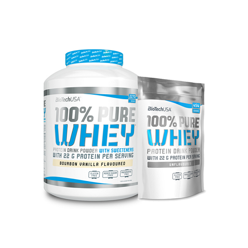 BIOTECH USA 100% PURE WHEY 2270G + 454G