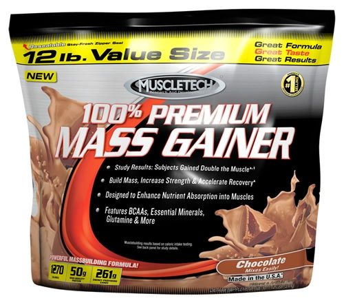 Muscletech 100% Mass Gainer 5.5кг