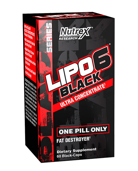 Nutrex Lipo-6 Black Ultra Concentrate 60.kap